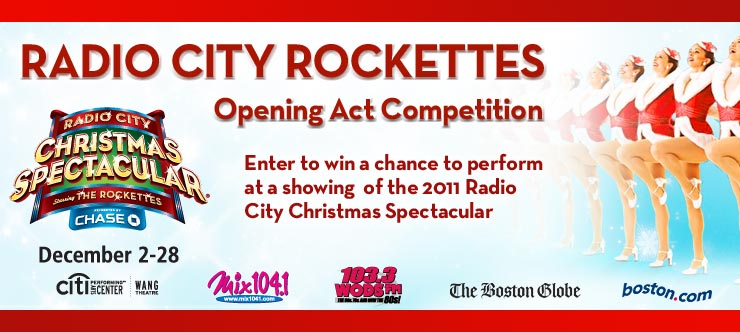 think your dance troupe can impress the rockettes then enter the opening act auditions dance contest if our judges pick your performance you could be the - Radio City Christmas Show Tickets