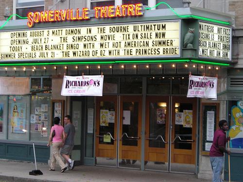 Somerville movie theatre ma