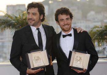 Javier Bardem and Elio Germano.jpg