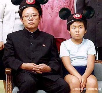 Ким Чен Ун и дитя