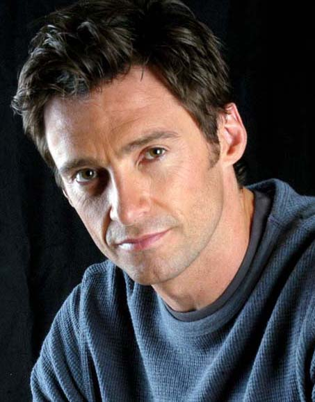 hot men's haircuts 2009-2010 -Hugh Jackman Hairstyles