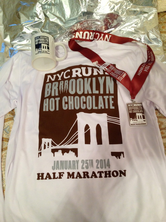 Brooklyn 1/2 race schwag