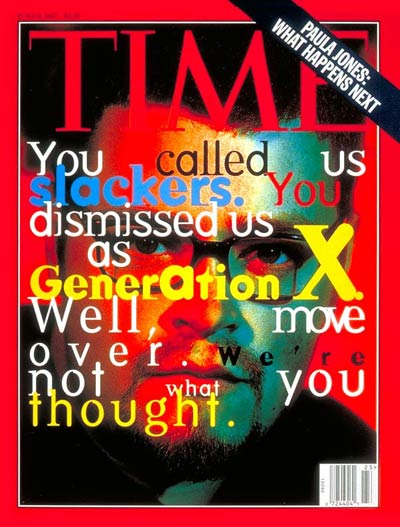 Generation X Time Cover June 1997