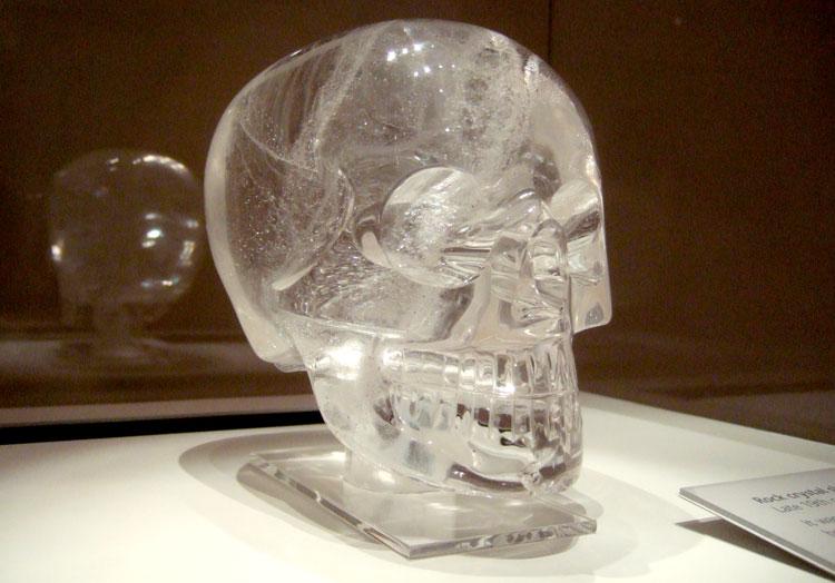 crystal skull, british museum