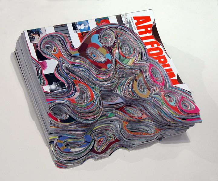 Things you can do with a book: sculpt it, scrape it, turn it