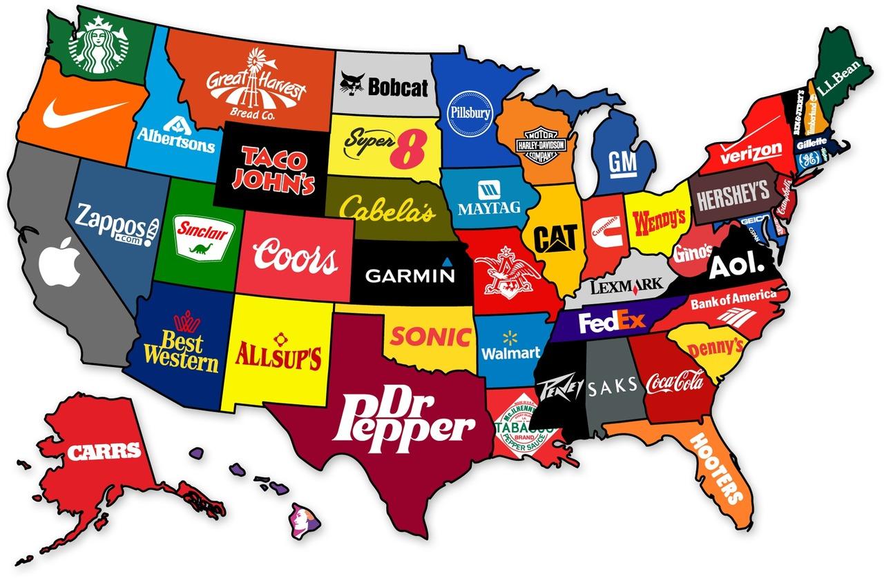 The United Corporations Of America Brainiac - Us map of america