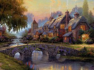 Along the Lighted Path - Kinkade.jpg