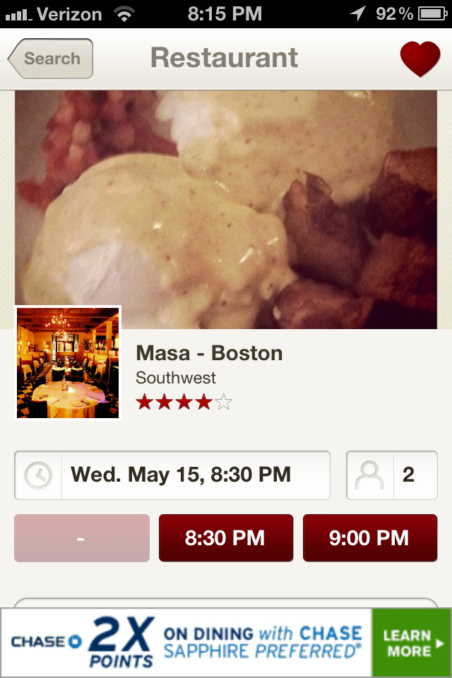 OpenTable A Simple Way To Make Dining Reservations Apptitude Test - Open table reservation system