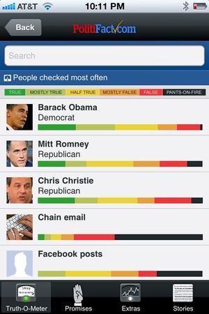 PolitiFact Mobile app