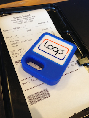 test drive loops digital payment device