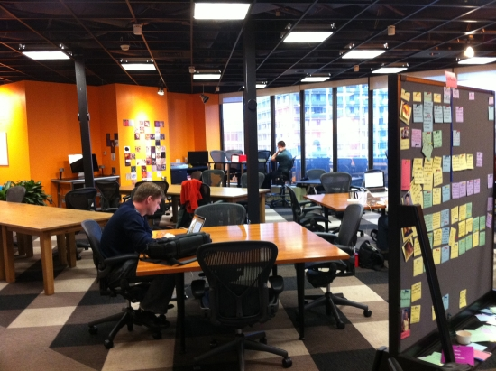 Expanded Co Working Space At Cambridge Innovation Center