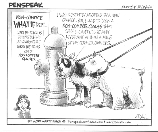 Even Massachusetts Dogs Are Hounded By Non Compete Agreements