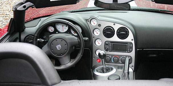 2009 Dodge Viper Interior