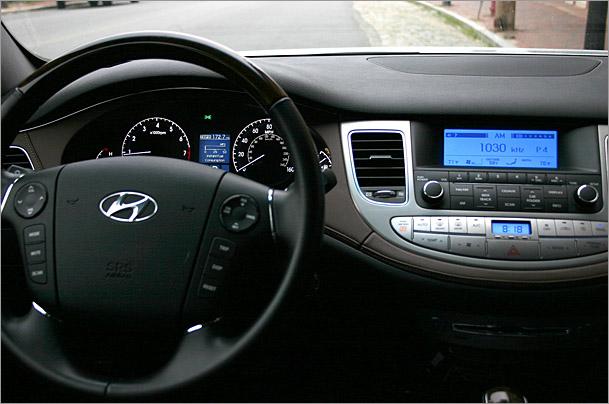 Charming 2009 Hyundai Genesis Dash 2