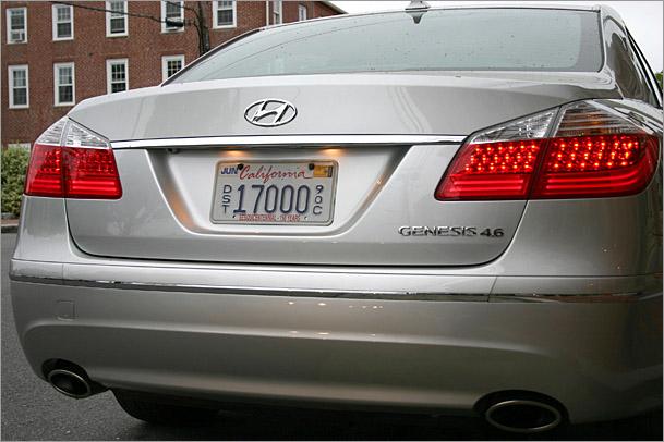 2009 Hyundai Genesis 4 6 Shocking Competence Boston