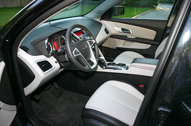 2010-GMC-Terrain-interior.jpg. Our test vehicle priced out at $32325 with