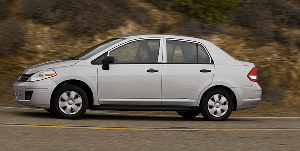 2010 Nissan Versa  Stripped-out  10k Sedan Leaves You Alone In Thought