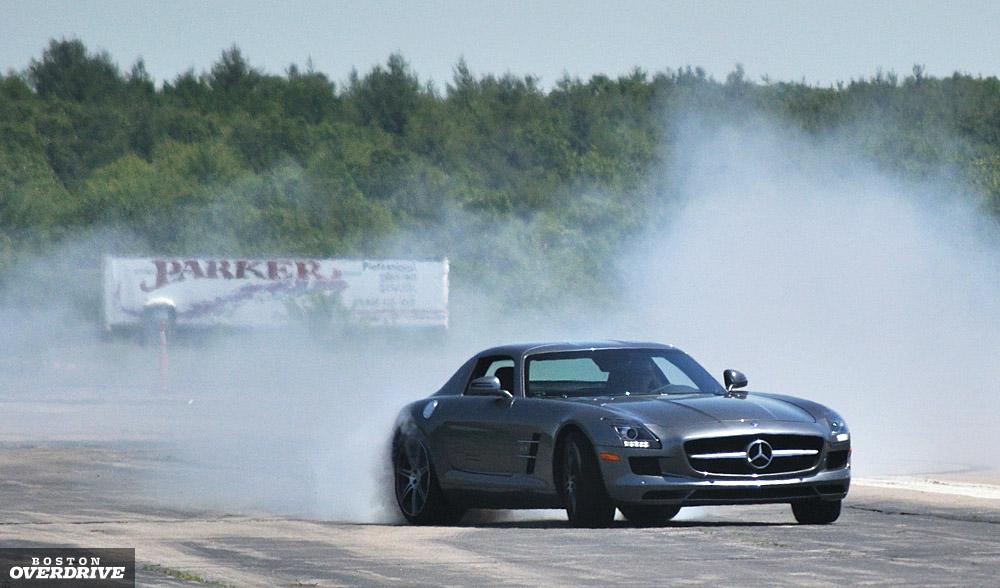 Mercedes Sls Amg Boston Slide Smoke Jpg