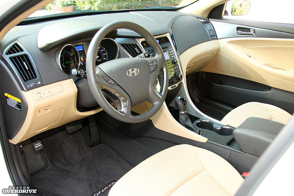 2011 Hyundai Sonata Hybrid Interior Jpg