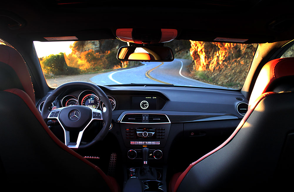 2012 Mercedes C63 Coupe Interior Jpg