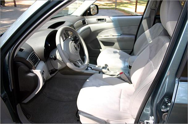 2009 Subaru Forester X interior