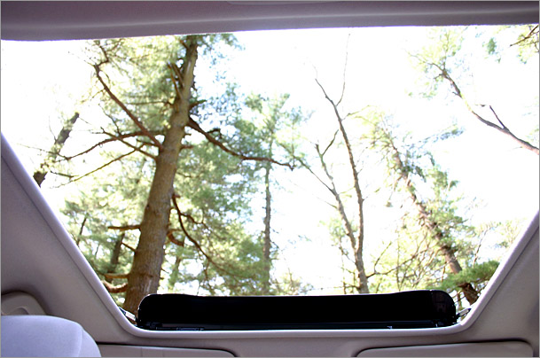 2009 Subaru Forester X sunroof
