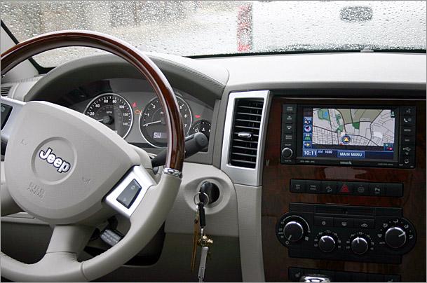 Luxury Jeeps, part one: 2009 Grand Cherokee Overland - Boston Overdrive - Boston.com