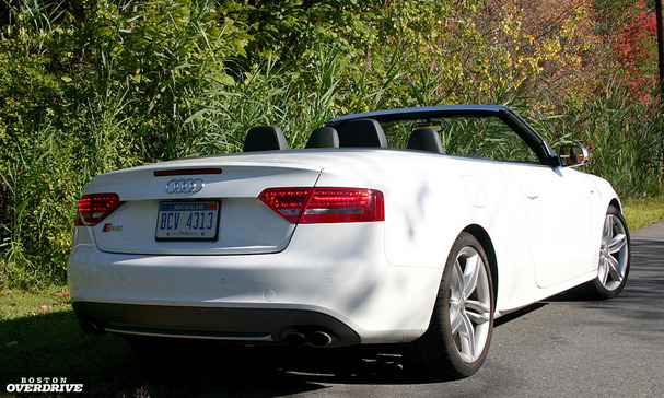 2010 Audi S5 Cabriolet Heavy Head Turner With A Hefty Price