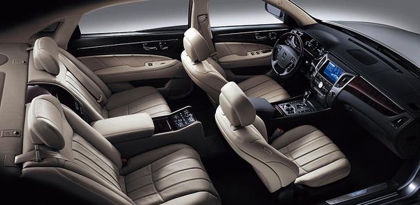 Hyundai Equus General nội thất cao cấp