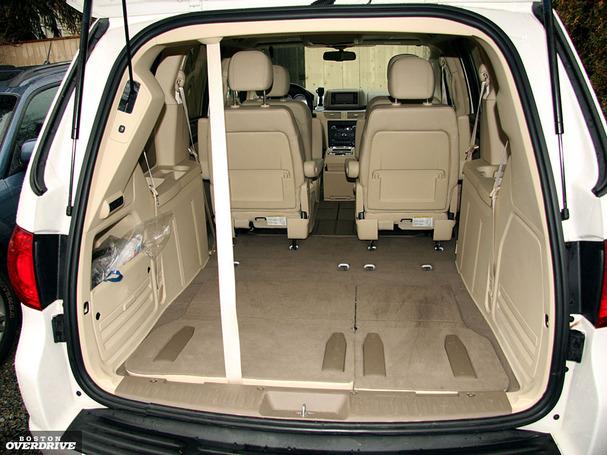A Routan Owner's Blog: Volkswagen Routan: Sporty also-ran van