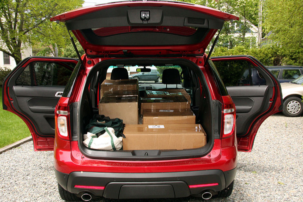cargo space on ford autos post. Black Bedroom Furniture Sets. Home Design Ideas