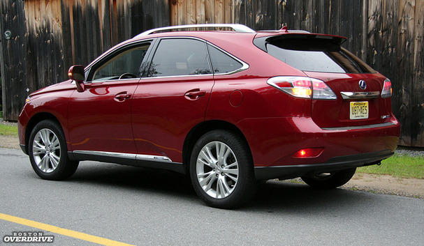 2011 lexus rx 450h hybrid or not it 39 s plush all the way boston overdrive. Black Bedroom Furniture Sets. Home Design Ideas