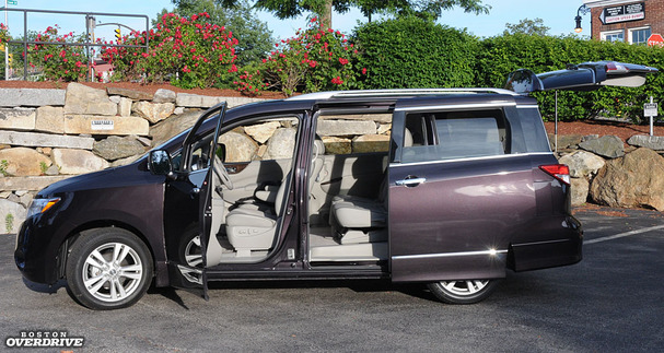 2011 Nissan Quest Among Minivans A Suitable Challenger Boston