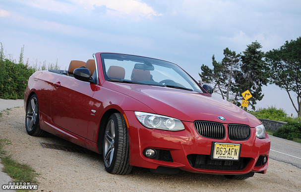 2017 Bmw 335is Convertible Front Left Jpg