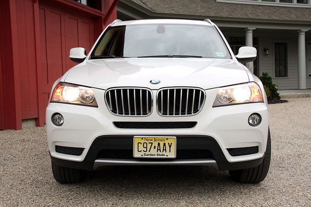 2011 BMW X3 Front