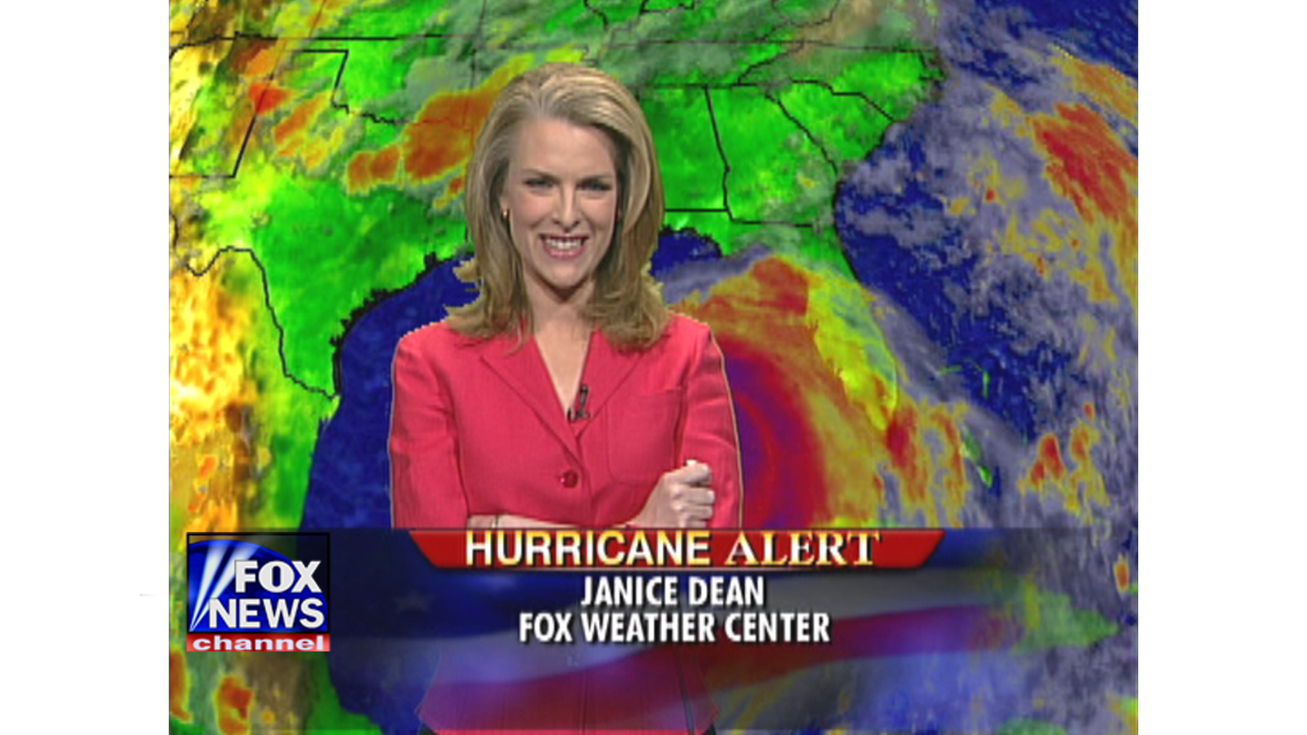 By 2005, Fox News Channel's meteorologist Janice Dean had worked her