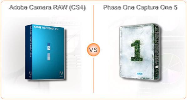 Adobe Camera RAW (CS4) vs. Phase One Capture One Pro (v5)