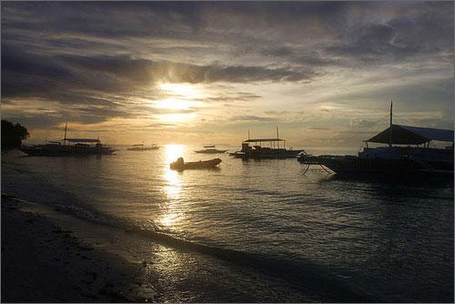 Bohol - Boholano Sunset - Philippine Photo Gallery