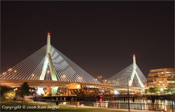 Worlds Highest Bridges. Boston_Skyline_Zakim_Bridge