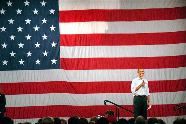 Barack Obama by Derrick Jackson