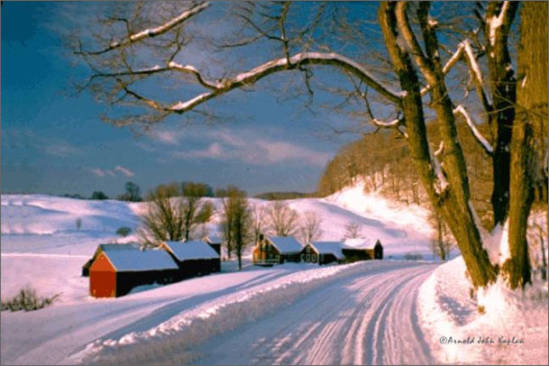 Jenne Farm in winter