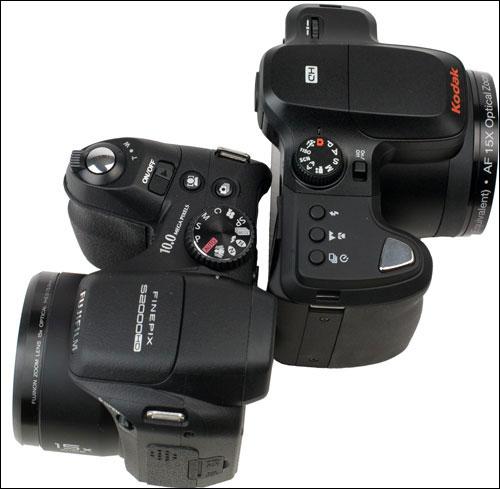 Kodak Fujifilm Controls