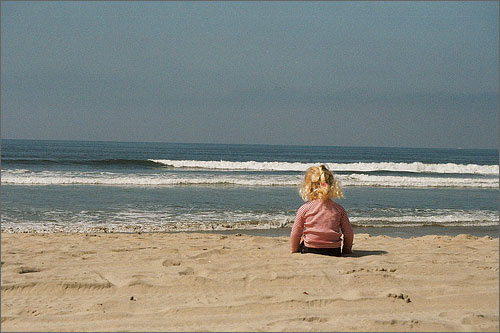 Little Girl, Big Waves