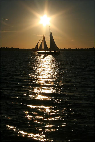 Sailboat in the sun There is no better way to get a MILF's juices flowing than to be a ...