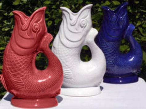Love the sea 4 fish items for the home the grommet - Gurgling water pitcher ...