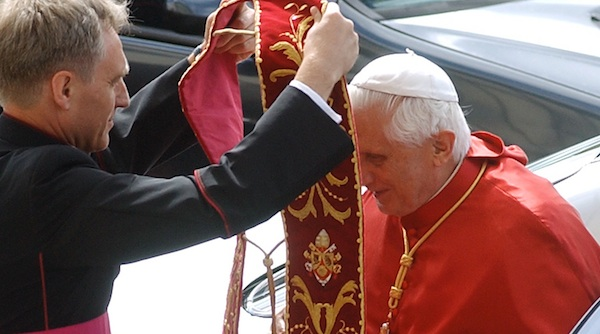 Pope Benedict's 'intense relationship' with 'handsome male companion' scrutinized by Andrew Sullivan