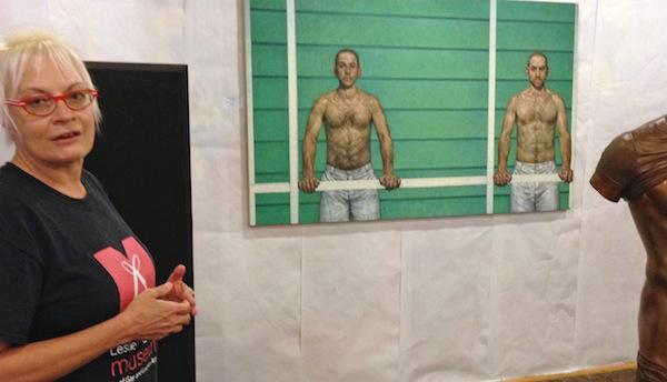 Homosexual art gallery