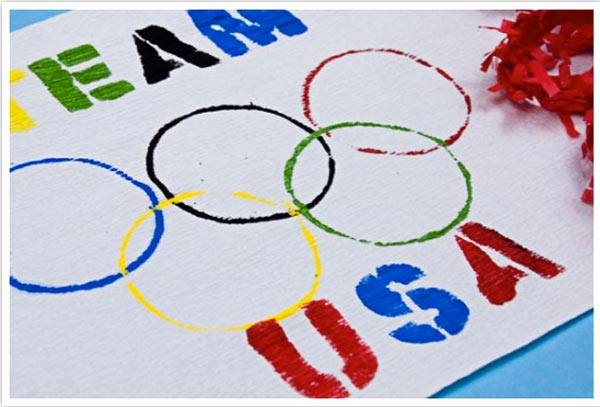 9 diy projects to make your olympics party feel like an authentic diyteamusaolympicflagonecharmingpartyg solutioingenieria Gallery