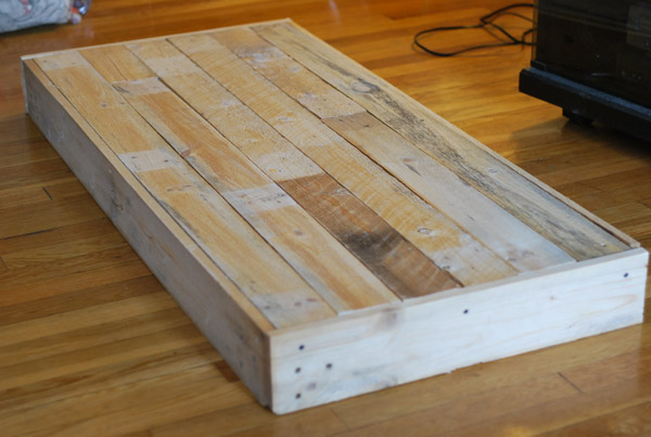 Hutchings Pallet Table Design