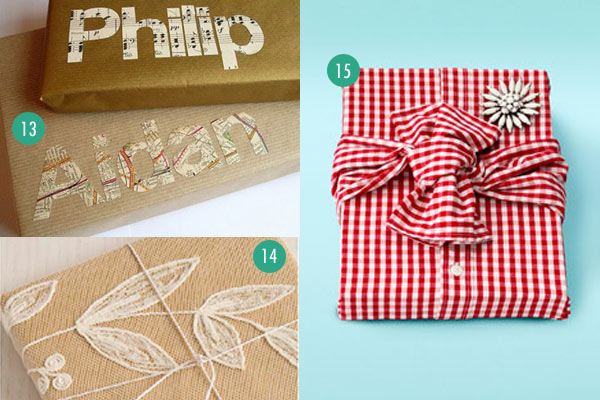 20 last minute gift wrap ideas using paper grocery bags for Other uses for household items